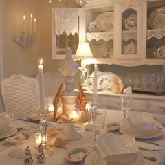eclectic dining room by My Romantic Home