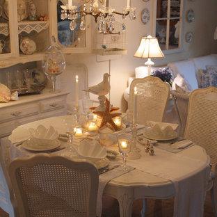 Idées déco pour une salle à manger romantique.