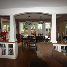 Craftsman Dining Room by Nunley Custom Homes