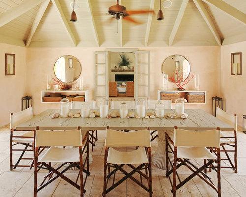 Beach House Dining Room Houzz