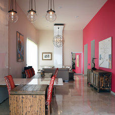 Contemporary Dining Room by Erika Winters® Design