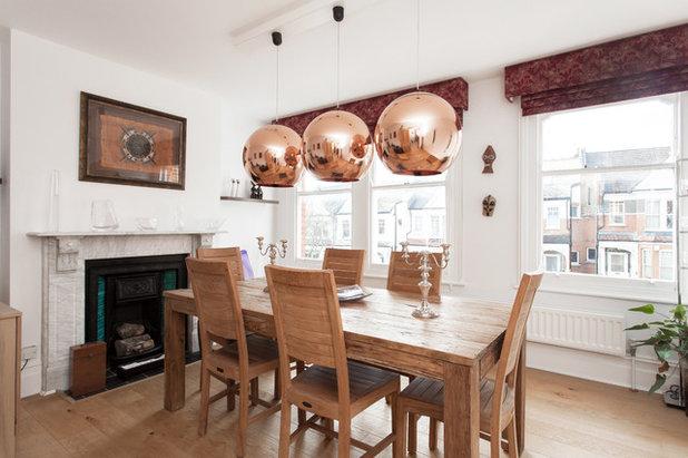Scandinavian Dining Room by DS Interior Design