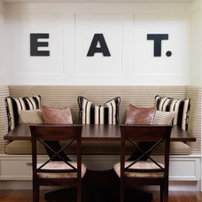 Traditional Dining Room by Emily Griffin Design