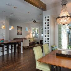 Craftsman Dining Room by Greenbelt Construction