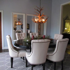 Traditional Dining Room by Olive Juice Designs