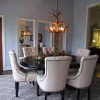 Carlsbad Townhouse Eclectic Dining Room San Diego