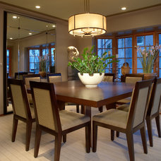 Contemporary Dining Room by Richard Ross Designs