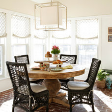 Traditional Dining Room by Tom Grimes Photography