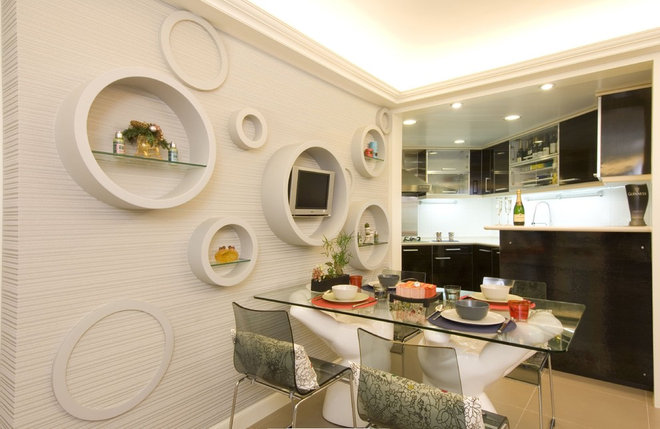 Modern Dining Room by S.I.D.Ltd.