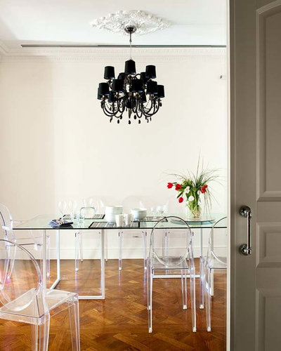 Traditional Dining Room by nikohl cadeau interiors
