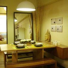 Asian Dining Room by Jen Padrigo