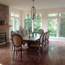Eclectic Dining Room by Woodcraft.ca