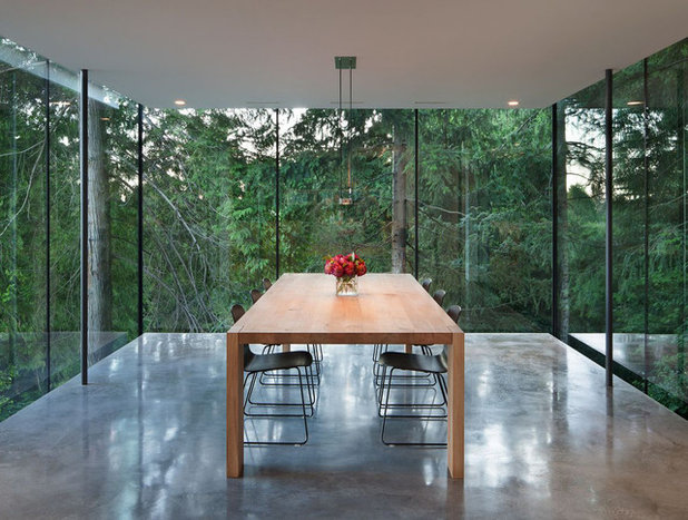 Modern Dining Room by Nelcan Electric
