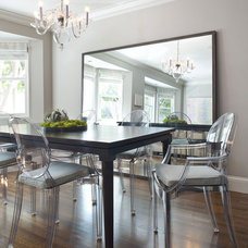 Modern Dining Room by lisa gutow design