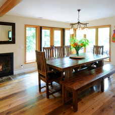 Craftsman Dining Room by Morse Remodeling, Inc. and Custom Homes