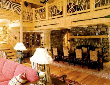 rustic cabin in long lake