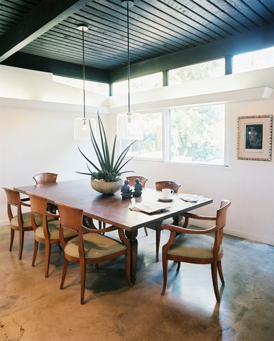 Midcentury Dining Room by Hillary Thomas Designs