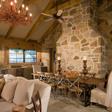 Rustic Dining Room by Interior Concepts, Inc.