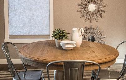 柔らかな雰囲気が魅力。丸テーブルのあるダイニングつくろう