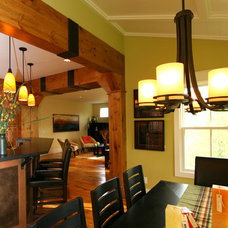 Craftsman Dining Room by New Urban Home Builders