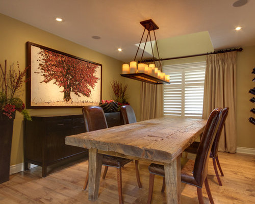 Rustic Dining Room Design Ideas, Remodels & Photos With