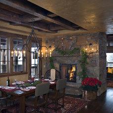 Rustic Dining Room Rustic Dining Room