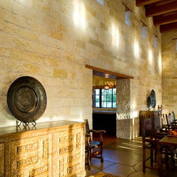 Rustic Hacienda Style Texas Ranch