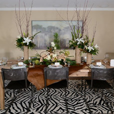 Traditional Dining Room by Kerrie L. Kelly