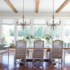 Farmhouse Dining Room by Lindsey Hene Interiors