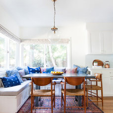 Eclectic Dining Room by Amber Interiors