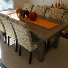 Rustic Dining Room by Rustic Trades Furniture