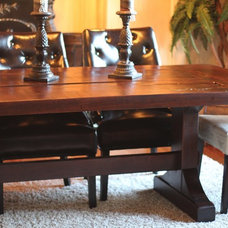 Eclectic Dining Tables by Rustic Trades Furniture
