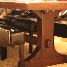 Farmhouse Dining Tables by Rustic Trades Furniture