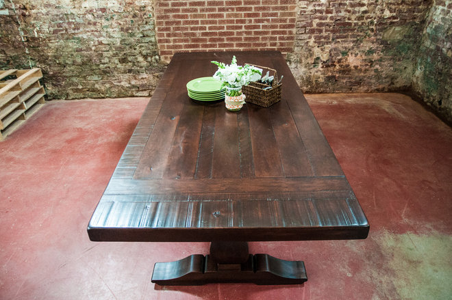Rustic Dining Tables by Rustic Trades Furniture