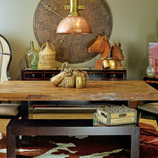 Eclectic Dining Room by High Fashion Home