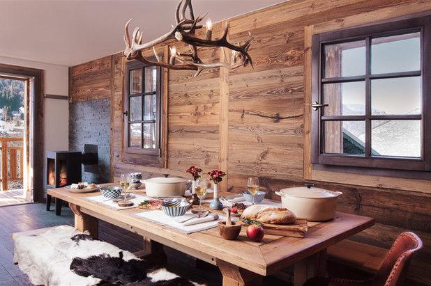 Rustic Dining Room Rustikal Esszimmer