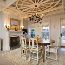 Traditional Dining Room by Fabrizio Construction llc