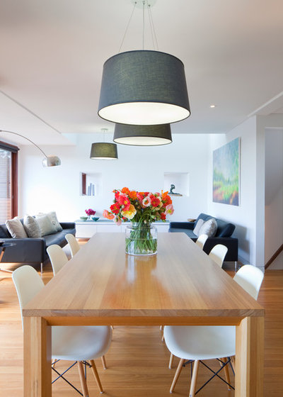 Contemporary Dining Room by Greenbox Architecture