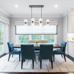 75 Beautiful Dark Wood Floor Dining Room Pictures Ideas Houzz