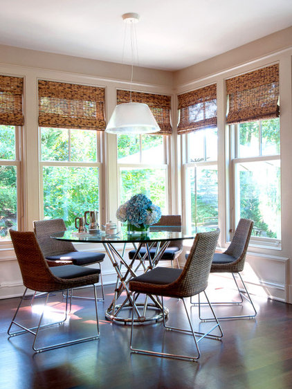 Traditional Dining Room by Roughan Interior Design