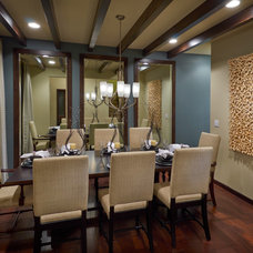 Contemporary Dining Room by TRIO Environments