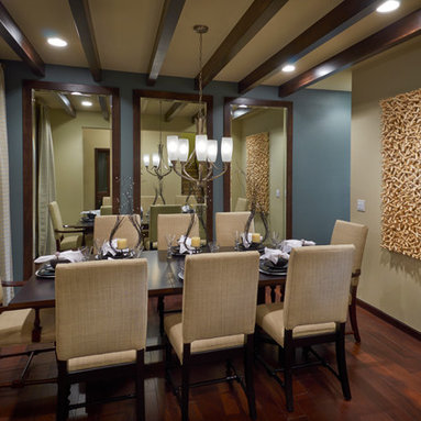 Contemporary Dining Room Mirror Design Ideas Pictures Remodel And Decor