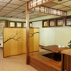 Asian Dining Room by Daedal Woodworking