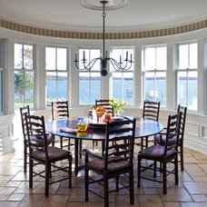 Traditional Dining Room by Matthew Korn Architecture AIA