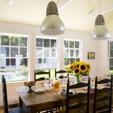 Eclectic Dining Room by Gary Cruz Studio