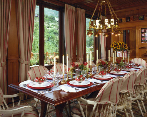 Elegant Dining Room Photo In Denver