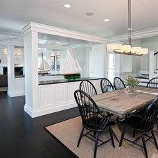 Beach Style Dining Room by Randall Kipp Architecture