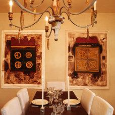 Contemporary Dining Room by Fabrizia Frezza Architecture & Interiors