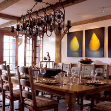 traditional dining room by Mojo Stumer Associates, pc.