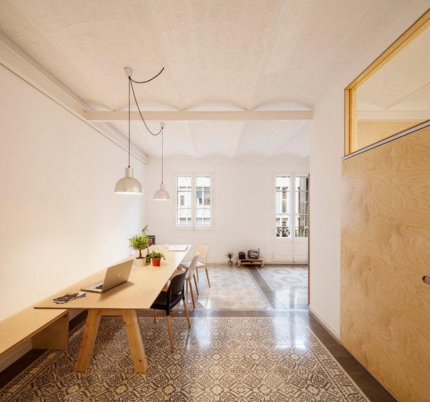 Skandinavisch Esszimmer by Adrian Elizalde Arquitectura